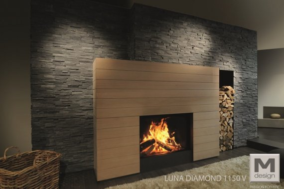 Insert bois M-DESIGN Luna Diamond 1150V prix et descriptions M-Design